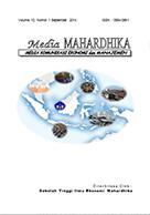 Jurnal Media Mahardhika - Volume 15, Nomor 3 Mei 2017